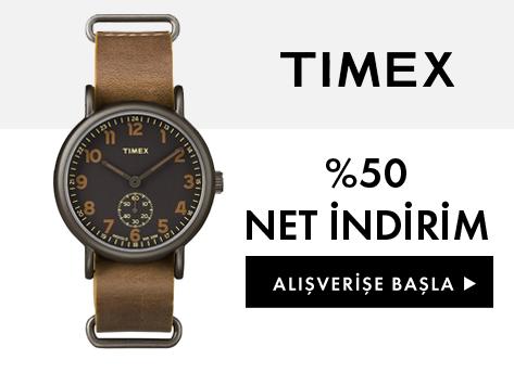 Timex %50 İndirim